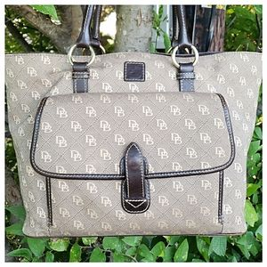 Dooney & Bourke Signature Shopper
